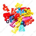 Charms, alphabet/Letter charms, assorted letters and color