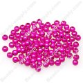 Miracle Beads Round 5mm , Fuchsia