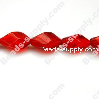 Glass Beads Twist 11x15 mm