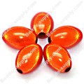 Miracle Beads Oval/Rice 9.5*14mm , Orange