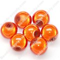Miracle Beads Round 8mm , Orange