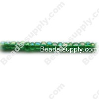 12/0 Glass Seed Beads,Transparent Colours Rainbow