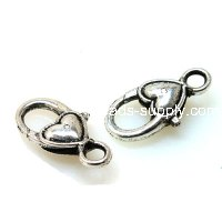 Casting Lobster Clasp 13*27mm