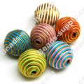 Crochet Beads 22mm ,Mixed color