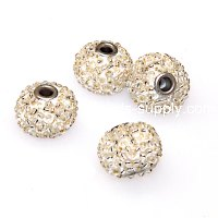 Indonesia Jewelry Beads, 10x13mm,white handmade beads,sold of 20 pcs