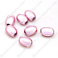 Miracle Beads Oval / Rice 8*11mm , Pink
