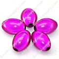 Miracle Beads Oval/Rice 9.5*14mm , Fuchsia