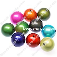 Miracle Beads Round 25mm ,Perle magiques Mixed Color