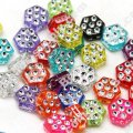 Spot Drill Beads 5mm*8mm,Mixed Color