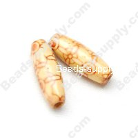Wood Rice Bead 8x23mm