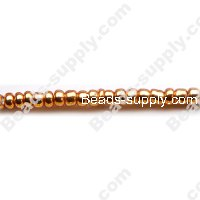 12/0 Glass Seed Beads,Dyed Colours