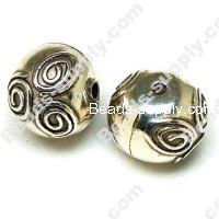 Antique Silver Plated CCB 16mm*14mm