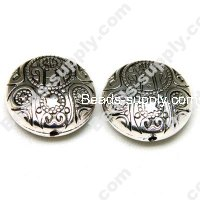 Antique Silver Plated CCB 21mm*9mm