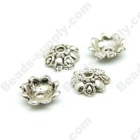 Casting Beads,sliver tone 3*10mm