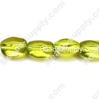 Glass Beads Twist 10x13 mm