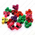 Large hole beads,plastic beads,assorted color,Mickey