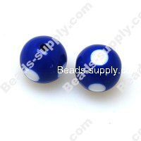 Printing beads 12mm Blue