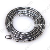 3mm Snake Chain Necklace , 43 cms