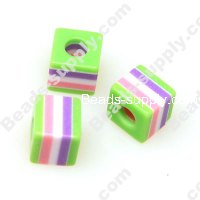 Bead, Resin, Square 10*10 MM