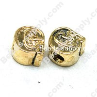 European Style Beads,18k Antique Gold,Sport G