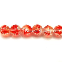 Glass Beads Football 8mm B-grade