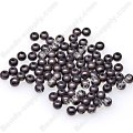 Miracle Beads Round 4mm , Black