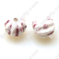 Porcelain Round Beads 14mm