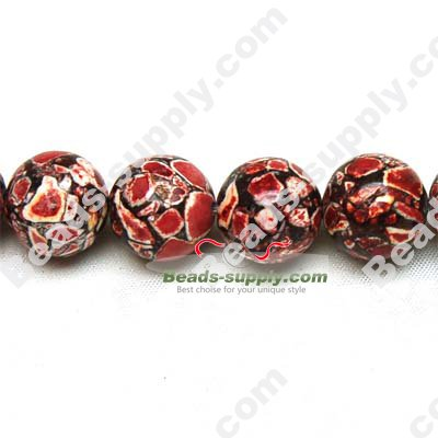 Synthetic Turquoise Round Beads - Click Image to Close
