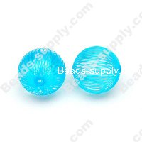 Wrap Acrylic Round Beads 18mm