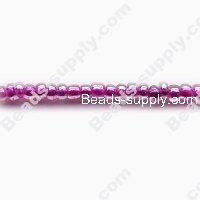 12/0 Glass Seed Beads,Luminous Inside Colours
