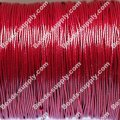 Beading wire,Korea waxy cord,24 gauges,red