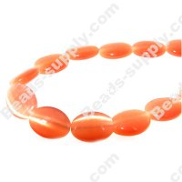 Cats Eye Oval Beads 10x14mm