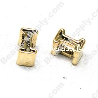 European Style Beads,18k Antique Gold,Sport I