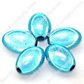 Miracle Beads Oval/Rice 9.5*14mm , Aquamarine