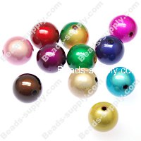 Miracle Beads Round 8mm ,Perle magiques Mixed Color
