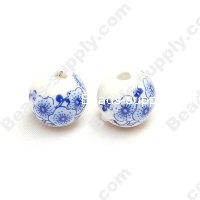 Porcelain Round Beads 14 mm