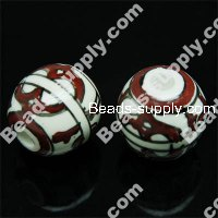 Porcelain Round Beads 20mm