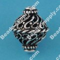 Vintage Filligree ,Antique Silver, 17*19mm