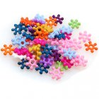 Beads,Solid acrylic daisy beads,spacer beads 8mm ,assorted color