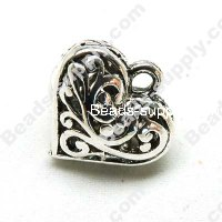 Casting Heart Charms 19*21mm