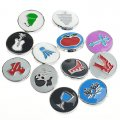 Enamel top ,Interchangeable Snap Charm ,sold of 12 pcs