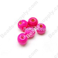 Wood Round Bead 8mm