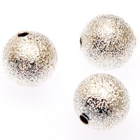 Beads,shimmering beads,8mm round beads,silver plated