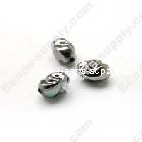 Black Nickle Beads 10x13mm