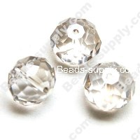 Briolette Glass Beads 9mm*12mm,Crystal AB