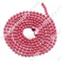 Colorful Ball chain 70CM,Pink