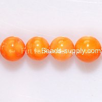 Dyed Mother of Pearl 8mm Round Beads