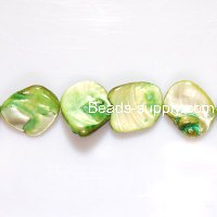 Dyed Mother of Pearl Chips in 20mm