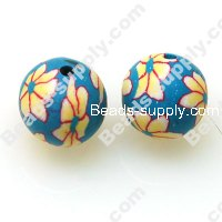 Fimo Round Beads 12mm