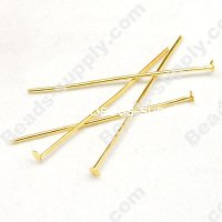 HeadPin 22mm ,Gold